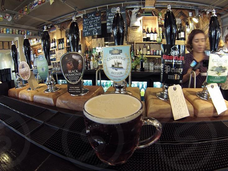Pub in Cambridge UK.  photo