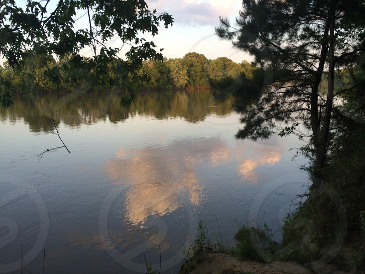"""The Chattahoochee River at Neal's Landing Park in Jackson County FL. The park was the site of the important Creek Indian village of Ekanachatte """"Red Ground"""". There might be a lost Spanish treasure nearby!   photo"""