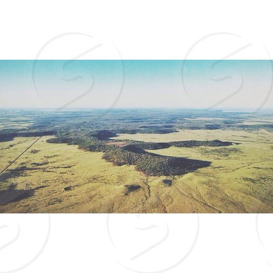 brown land view  photo