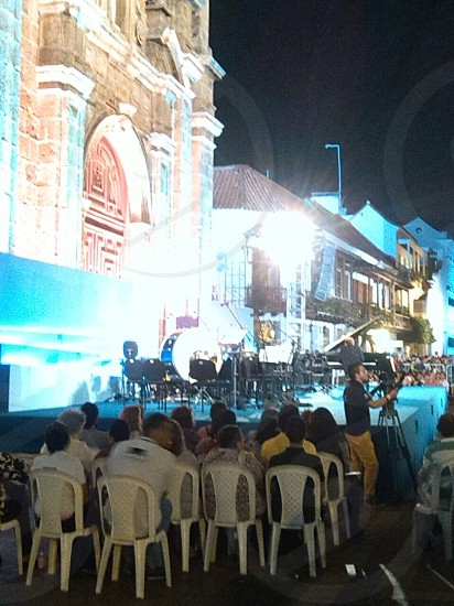 Festival de música Cartagena De Indias. photo