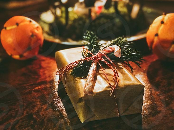 Present Christmas  gift  Christmas gift  Christmas present  photo