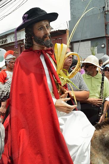 Holy week in Heredia Costa Rica. Palm Sunday photo