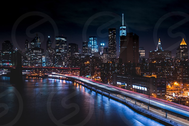 time lapse photography of metropolis photo