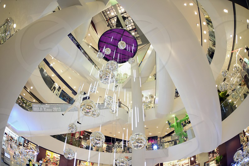 the Shopping Centre Siam Paragon the city centre in Pratunam in the city of Bangkok in Thailand in Southeastasia. photo