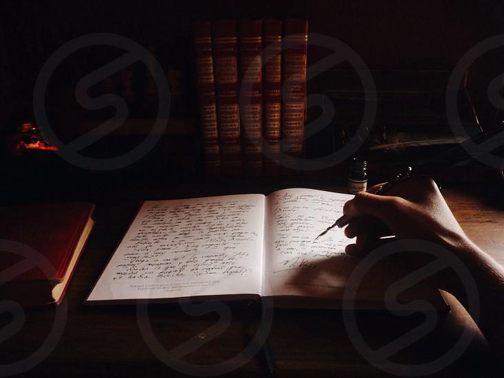The art of writing  photo