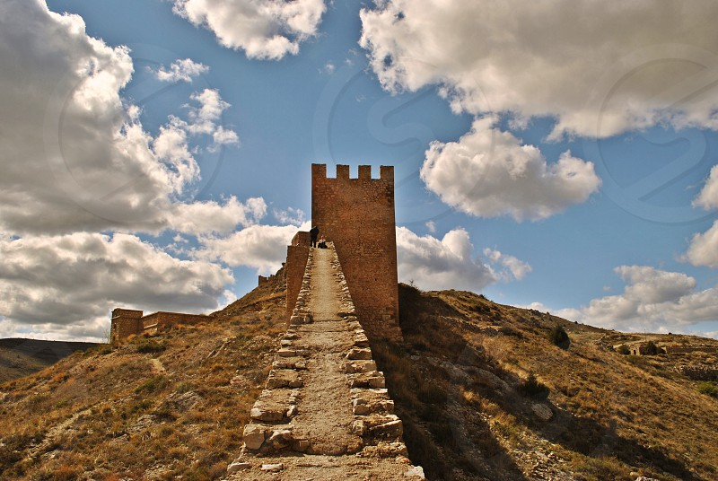 great wall of china under blue sky during daytime photo