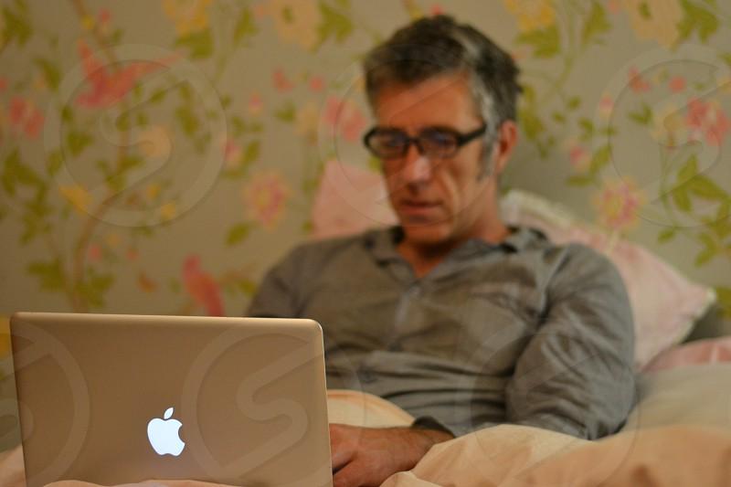 apple macpyjamas sickillbedbedroom photo