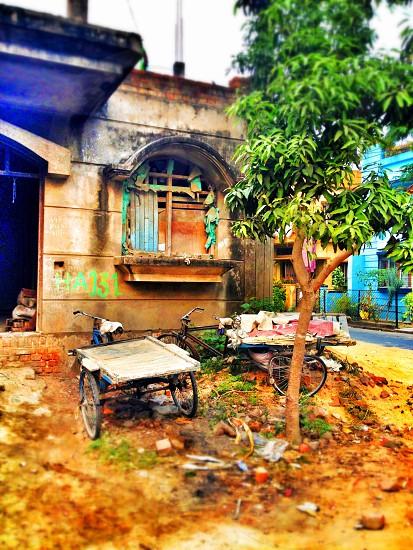 Rundown house Kolkata India photo