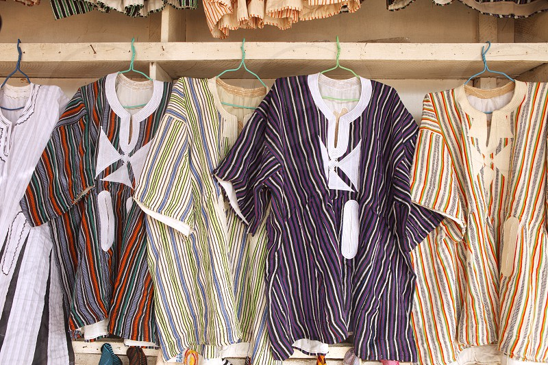 Textile - African Shirts photo