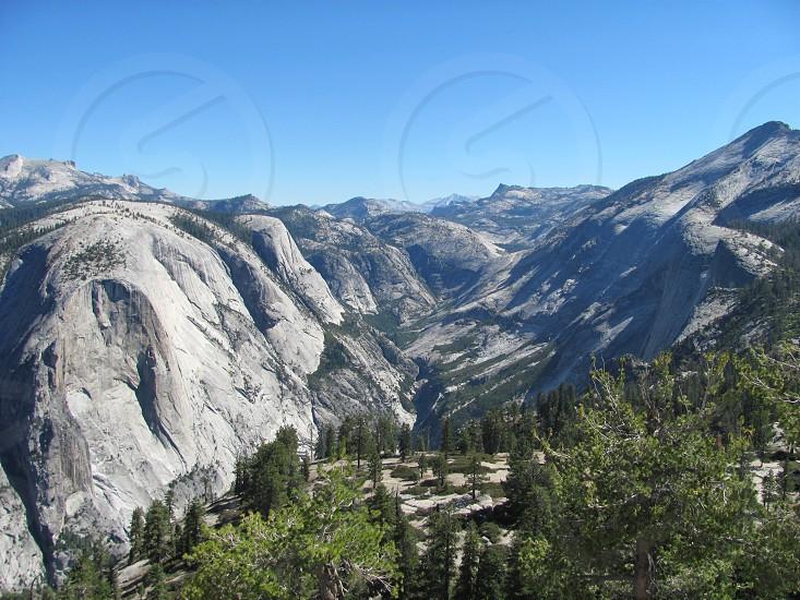Stunning view of the Yosemite Valley photo