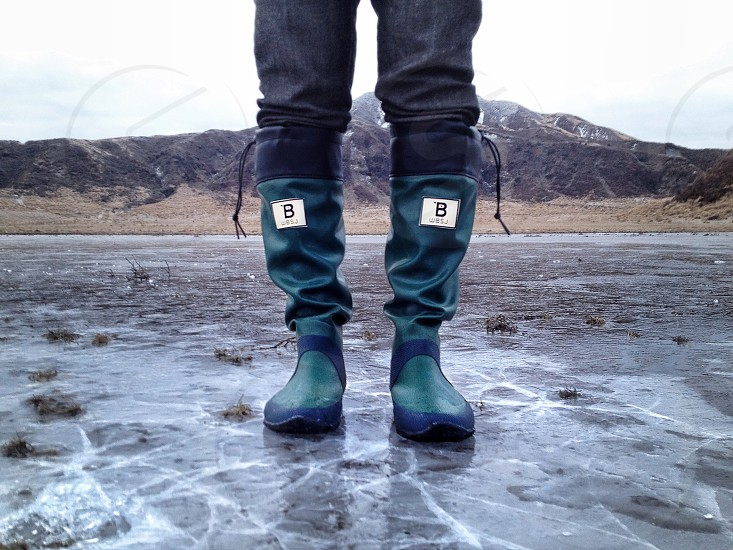 green boots photo
