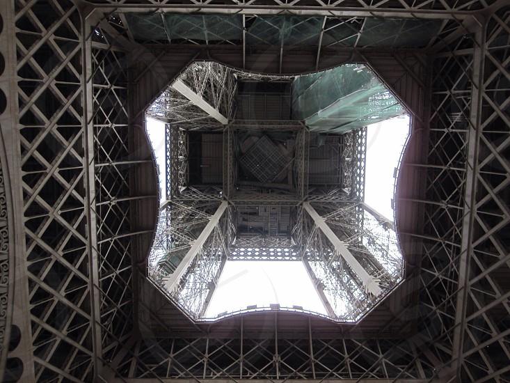 """Eiffel Tower """"Up""""; Paris France photo"""