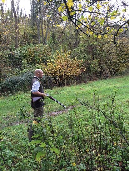 Game shooting country life photo