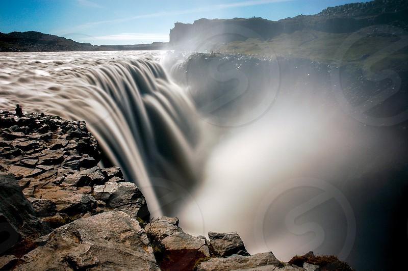 Detifoss Waterfall Iceland photo
