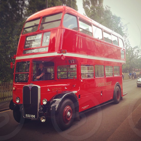 Vintage Routemaster photo