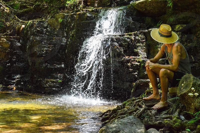 Pine Mountain; waterfall; nature; travel photo