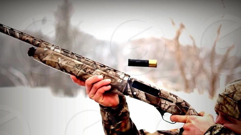 hunting trip rifle game sportsmen aim target shooting hunting trip photo