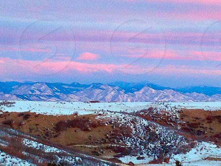 A crisp Colorado morning.  photo