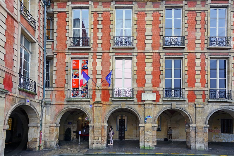 The Maison de Victor Hugo in Paris France photo