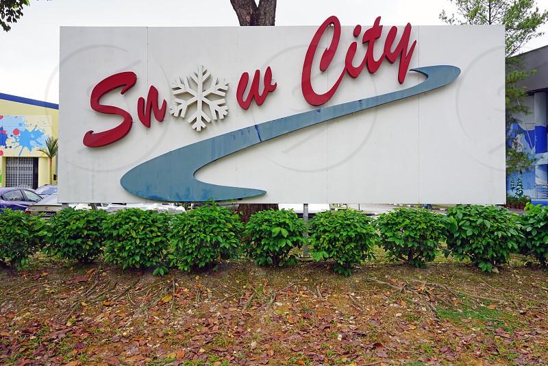 Snow City in Singapore photo