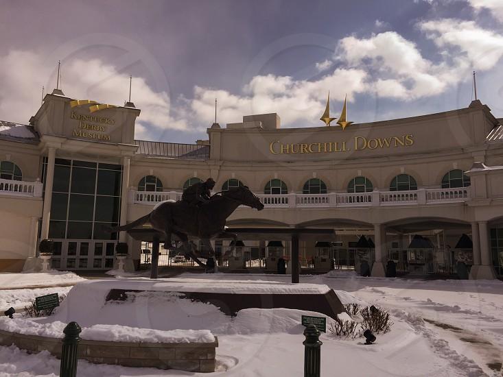 Kentucky derby. American horse racing  photo