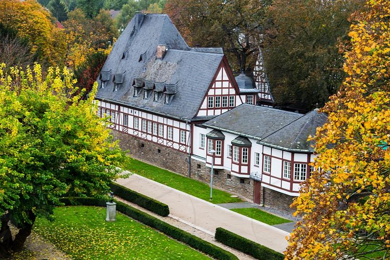 Koblenz on the Rhine River Germany. photo