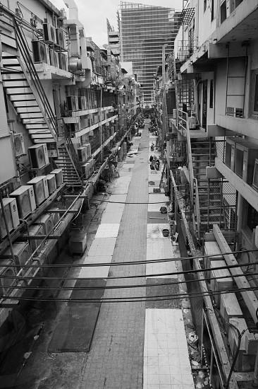 Bangkok alley photo