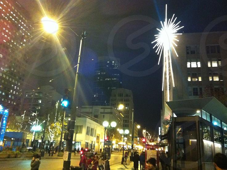 Seattle City Streets photo