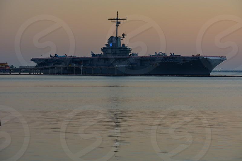 USS Lexington Corpus Christi Texas - aka The Blue Ghost photo