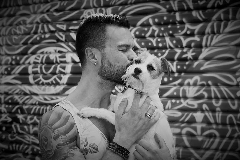 Pet Portraiture: Nick and Biscuit photo