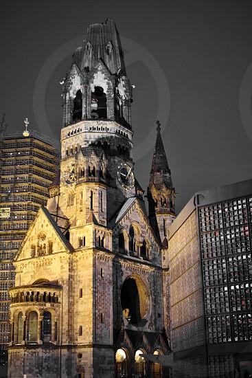 Kaiser Wilhelm Memorial Church in Berlin photo
