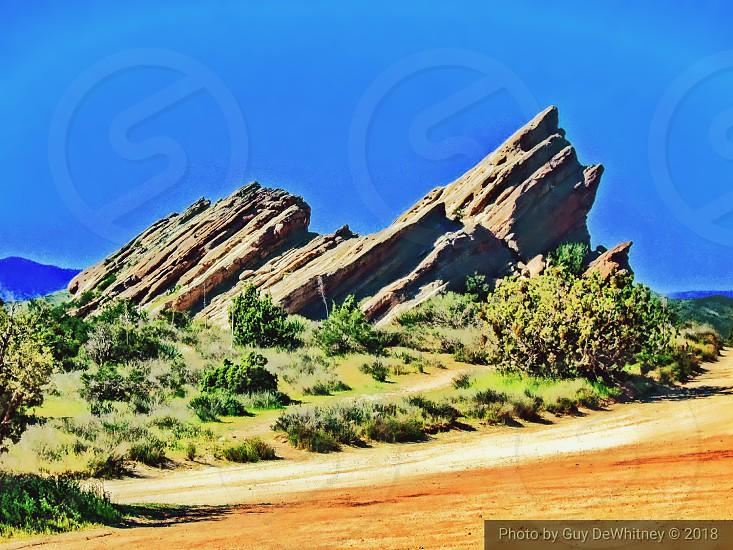 Vasquez Rocks California photo