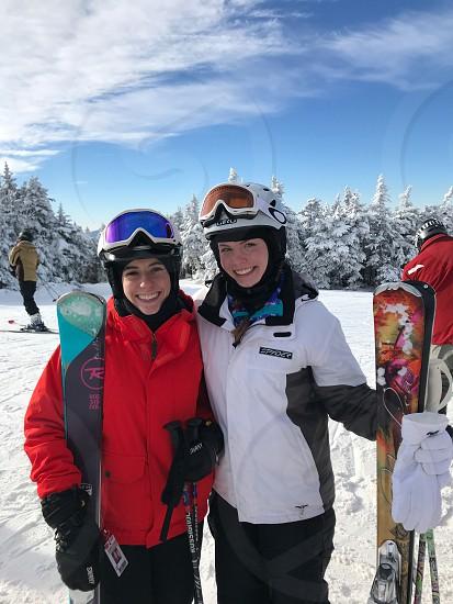 Vermont ski snow Stratton winter photo