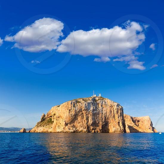 Cabo de San Antonio cape in Javea Denia Mediterranean sea of Spain photo