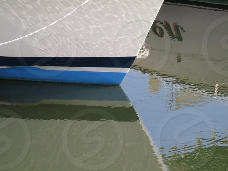 Boat Reflection photo