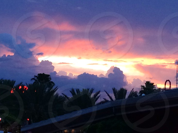 Sunset in FL photo