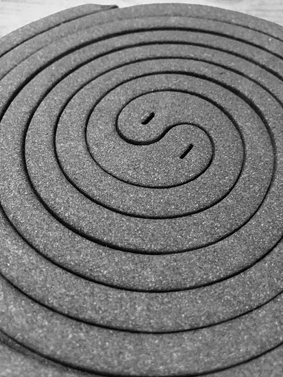 two black mosquito coil photo