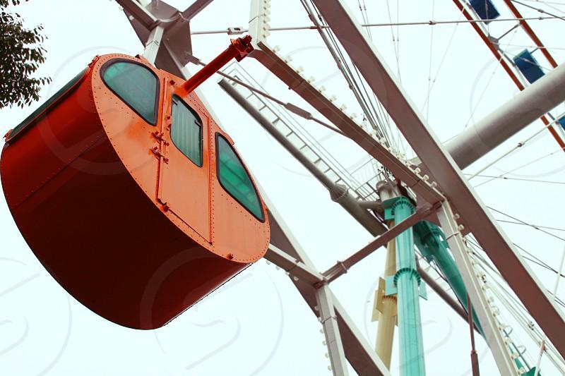 Ferris Wheel at Everland in South Korea. photo