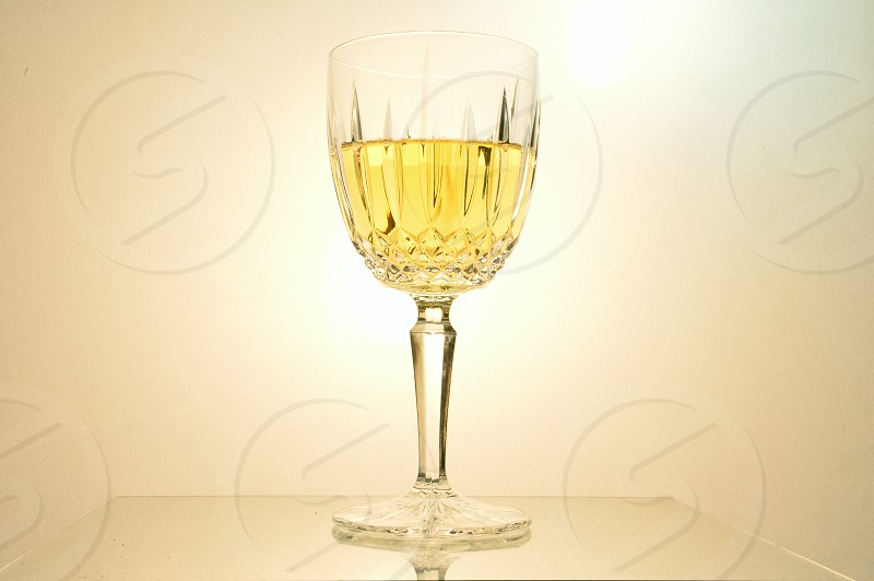 Wine Drinking Glass Wineglass Red Wine White Wine Alcohol Isolated White Background Isolated On White Food And Drink  photo