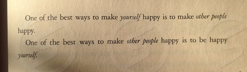 Happy quote photo