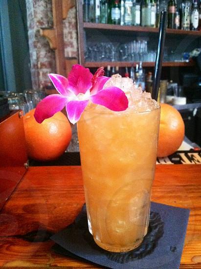 Rum cocktail photo