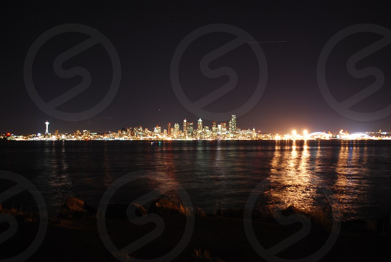 Night life Seattle photo
