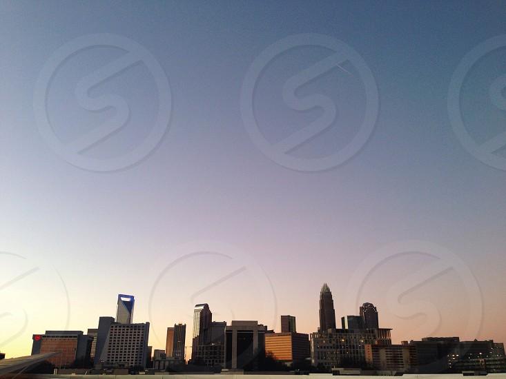 blue sky view photo