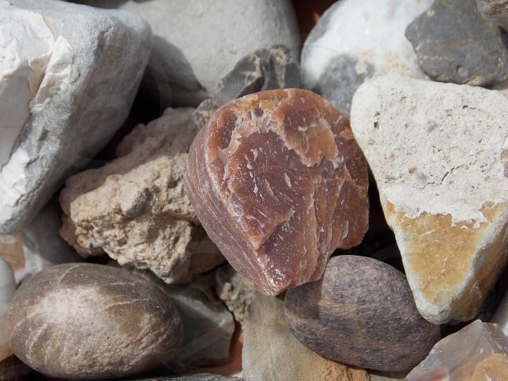 pile of stone photo
