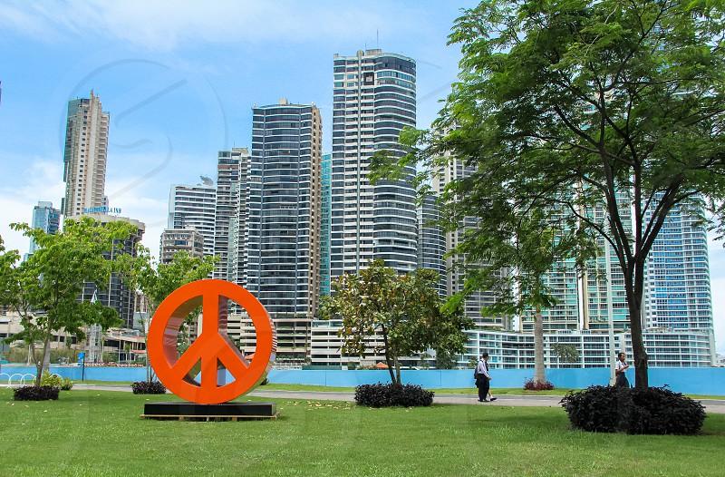 Along the Cinta Costera parkway Panama City photo