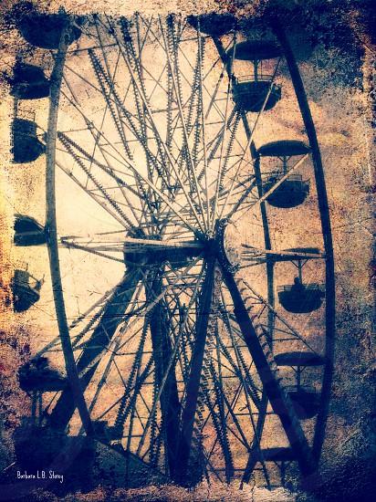 Vintage-style Ferris Wheel Fall Fair photo