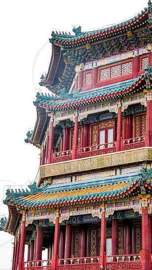 Beijing summer palacechinatravelfamilyarchitecturebuildings kindom   photo