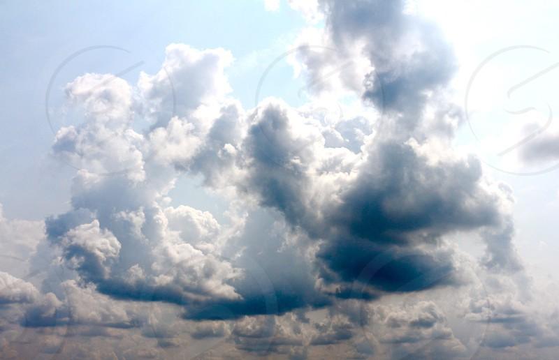 Sun through Clouds photo