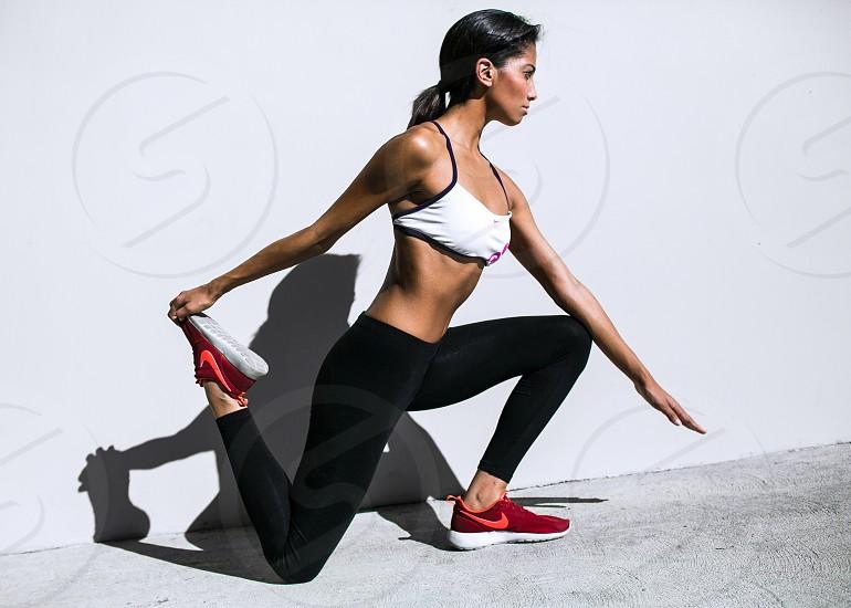 Workout yoga sweat Nike yoga pants workout wear workout gear train photo