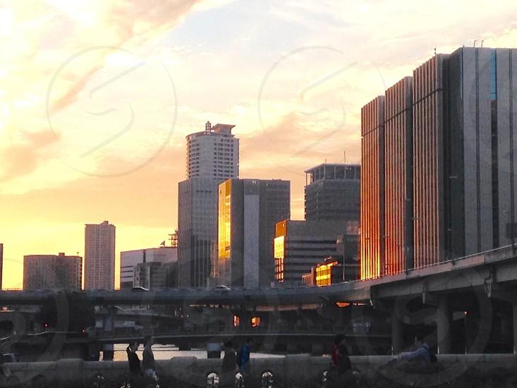 Osaka skyline  photo